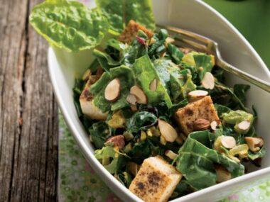 Receta Vegetariana: Saag de acelgas y tofu