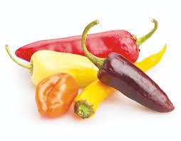 Chiles, alimentos picantes