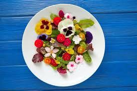 Las flores comestibles podrían ayudar a aumentar la ingesta de vitamina E