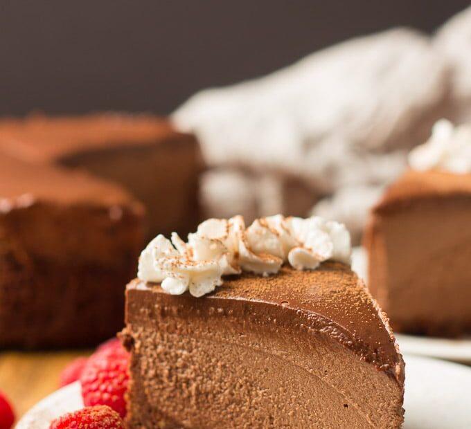 Receta Vegana: Cheescake de chocolate