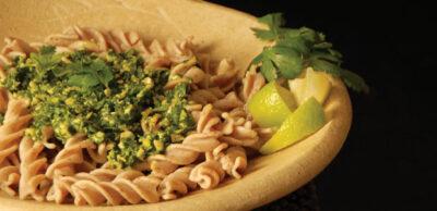 Receta Vegana: Pesto de cilantro