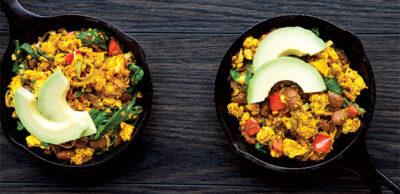 Receta Vegana: Revuelto de tofu