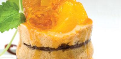 Receta Vegetariana: Pastel de Mousse de Dulce de Leche