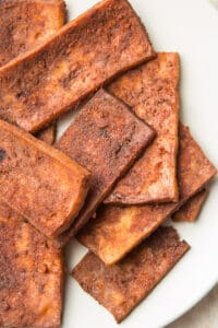 Receta vegana: Tocino de tofu