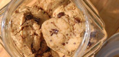 Receta Vegetariana: Galletas de mantequilla de cacahuete