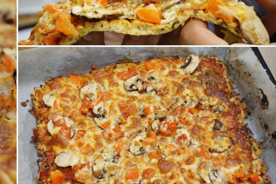 Receta Vegetariana: Pizza Saludable