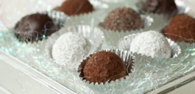 Receta Vegetariana: Trufas de chocolate