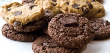 Receta Vegana: Galletas de pepitas de chocolate caseras sin gluten