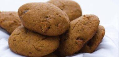 Receta Vegana: Galletas de limón con cobertura de canela