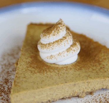 Receta Vegana: Tarta de Queso con Calabaza
