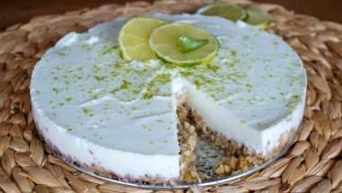 Receta Vegetariana: Cheesecake de lima