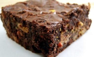 Receta Vegana: Brownies sin trigo, sin azúcar y sin lácteos