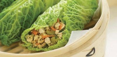 Receta Vegana: Rollos de tofu y col