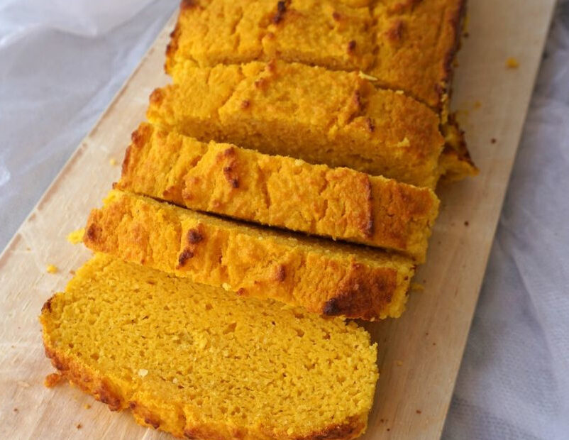 Receta Vegetariana: Bizcocho de Naranja y Zanahoria